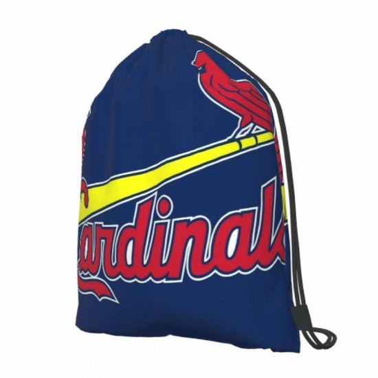 Lightweight St. Louis Cardinals Drawstring strap pack #284599 for Students Teens Boy Girl